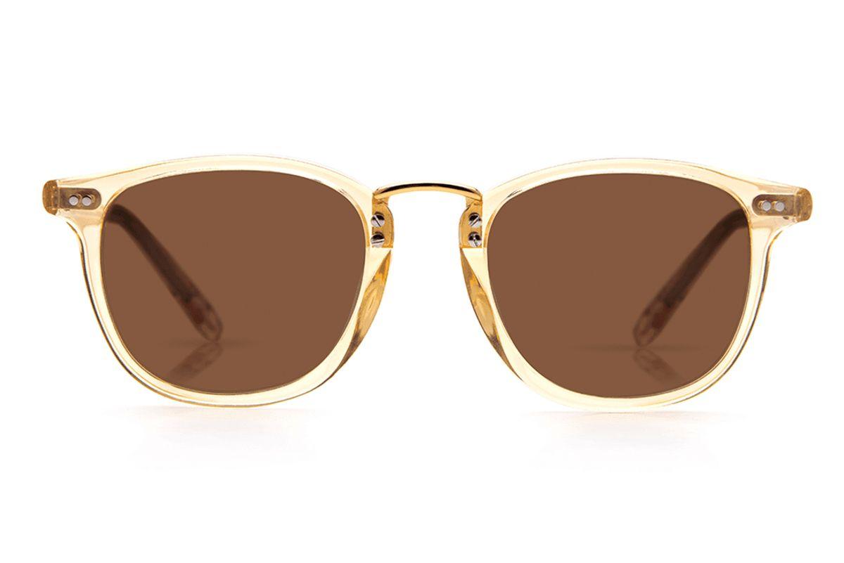 Franklin Champagne Polarized 24K Sunglasses