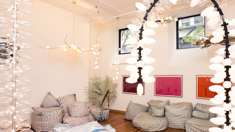Inside Iconic Designer Lindsey Adelman's NYC Studio