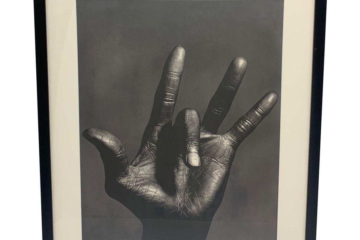 irving penn the hand of miles davis new york 1986