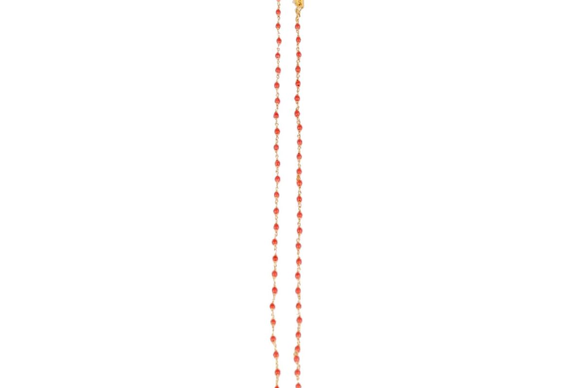 gimagaus apricot necklace