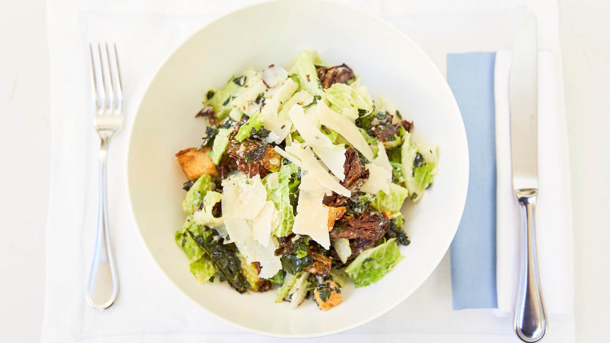 A Caesar Salad Recipe That Will Rival Your Mom's
