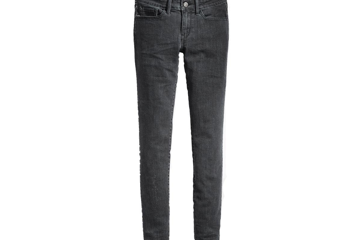 711 skinny jeans in black