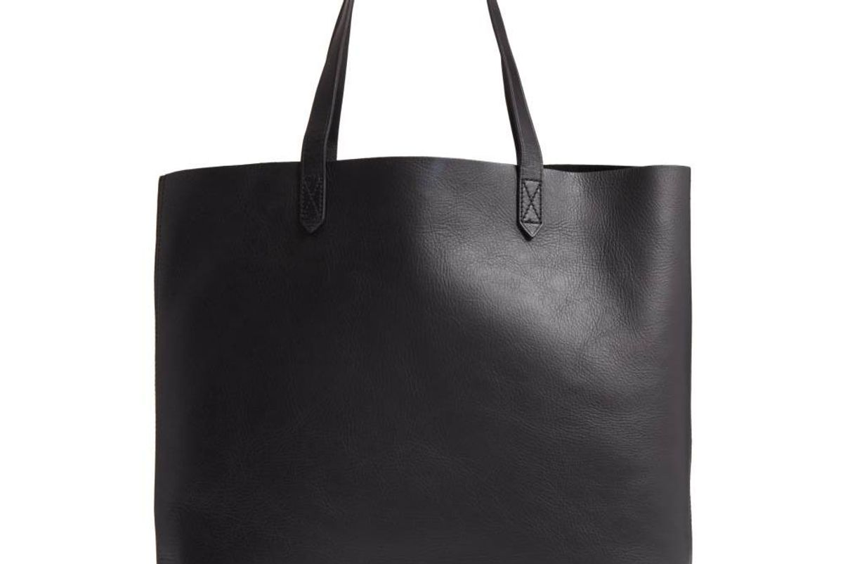 'The Transport' Leather Tote