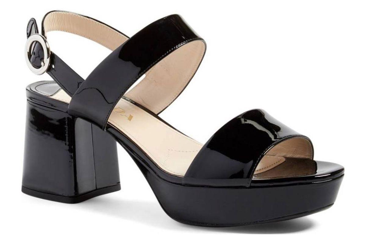 Slingback Platform Sandal