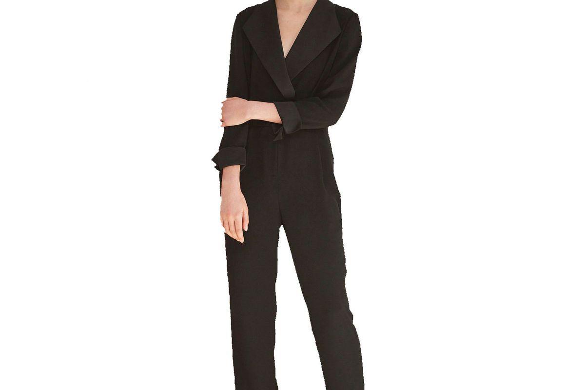 Ninette Tuxedo Jumpsuit