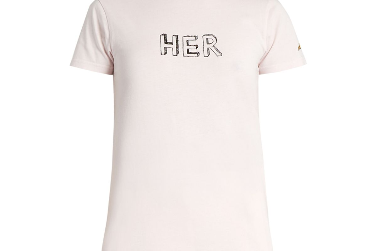 Her Cotton-Jersey T-shirt