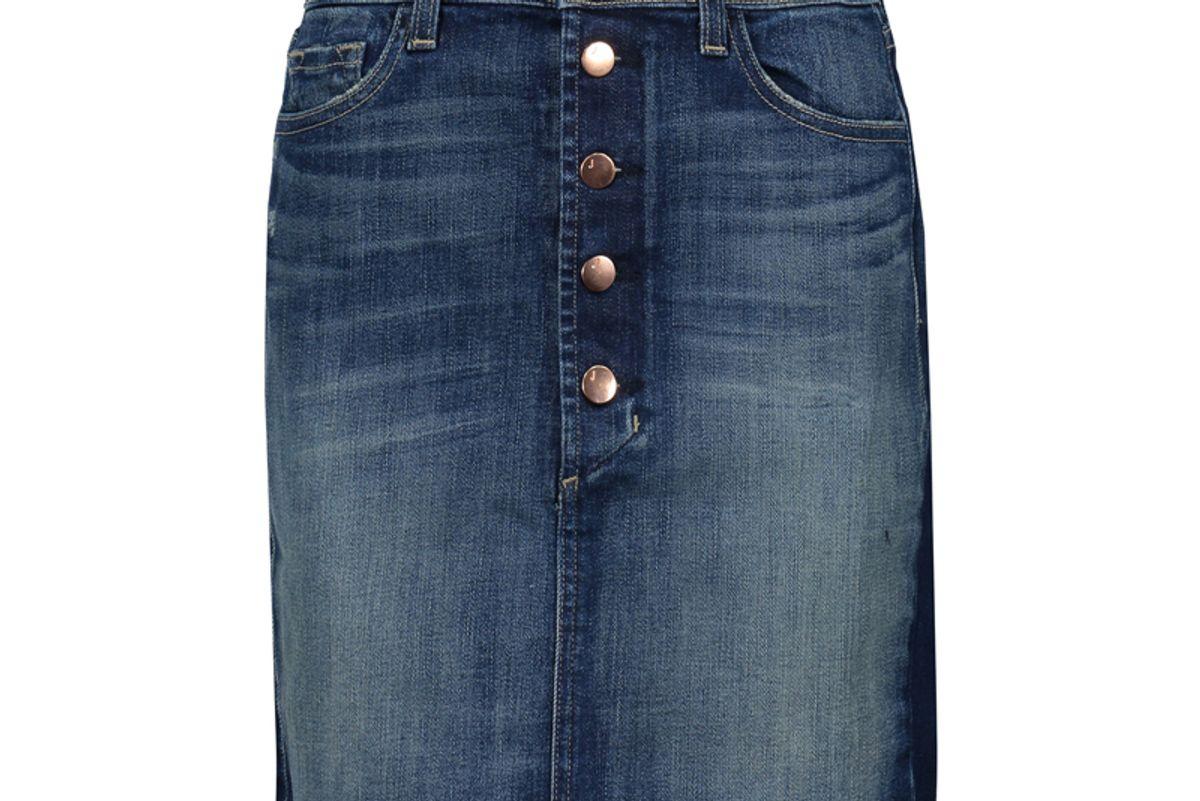 Rosalie Denim Mini Skirt