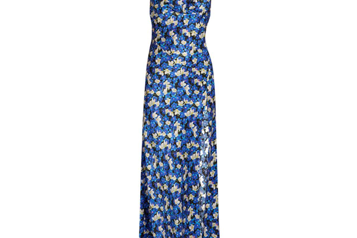 Leticia Floral-Print Maxi Dress