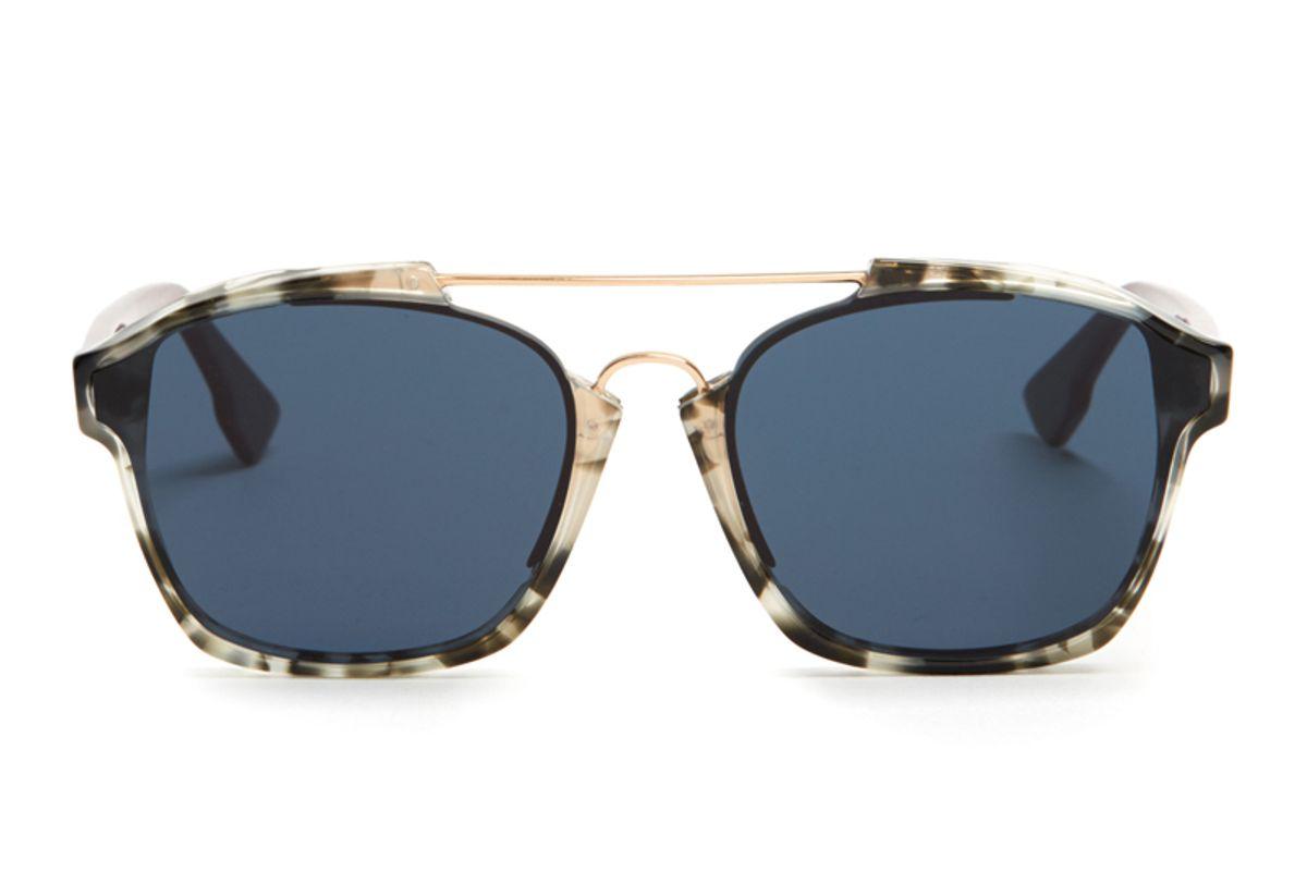 Abstract Bi-Colour Sunglasses