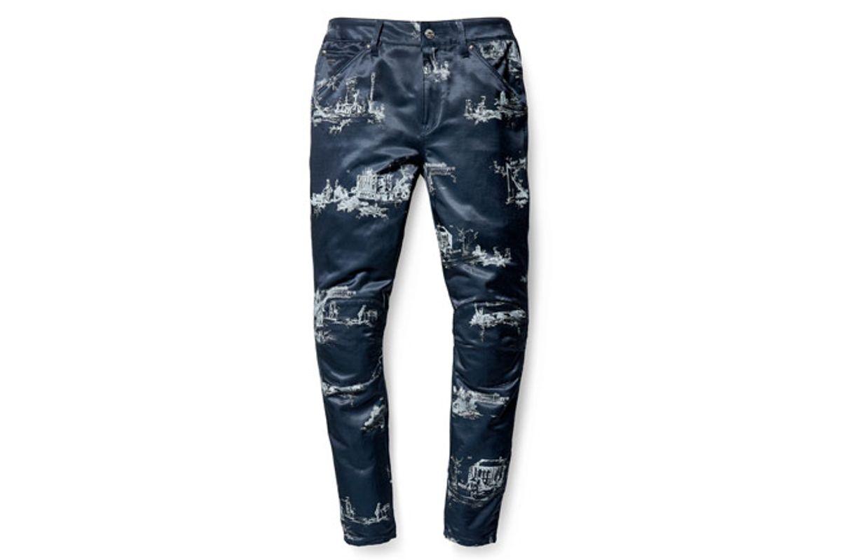 G-Star Elwood X25 3D Boyfriend Women's Jeans in Toile de Jouy