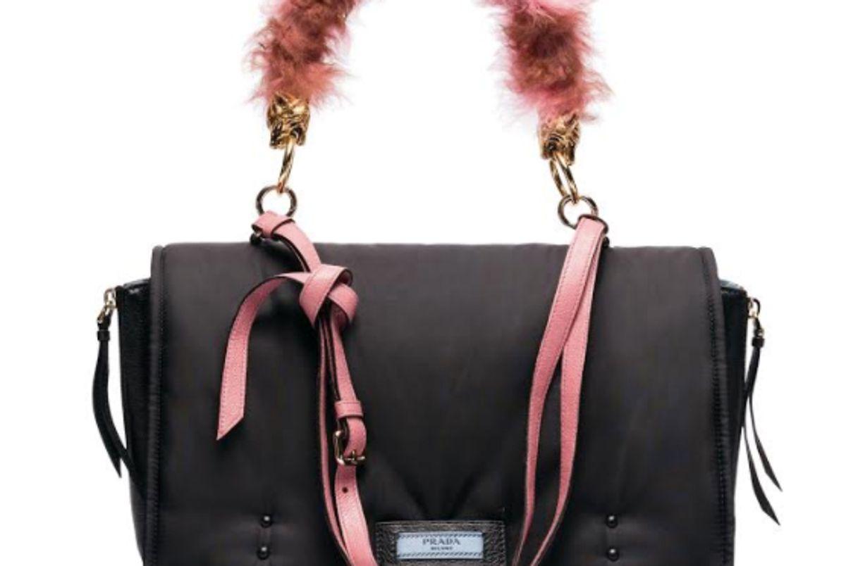 Etiquette Bag in Pink