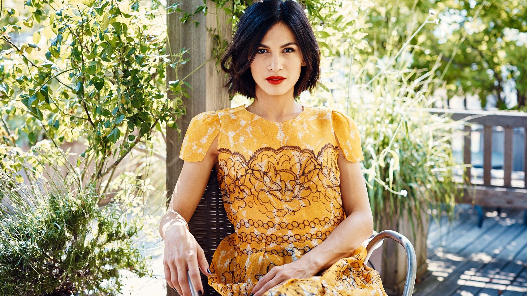 How Elodie Yung Mastered French Girl Style
