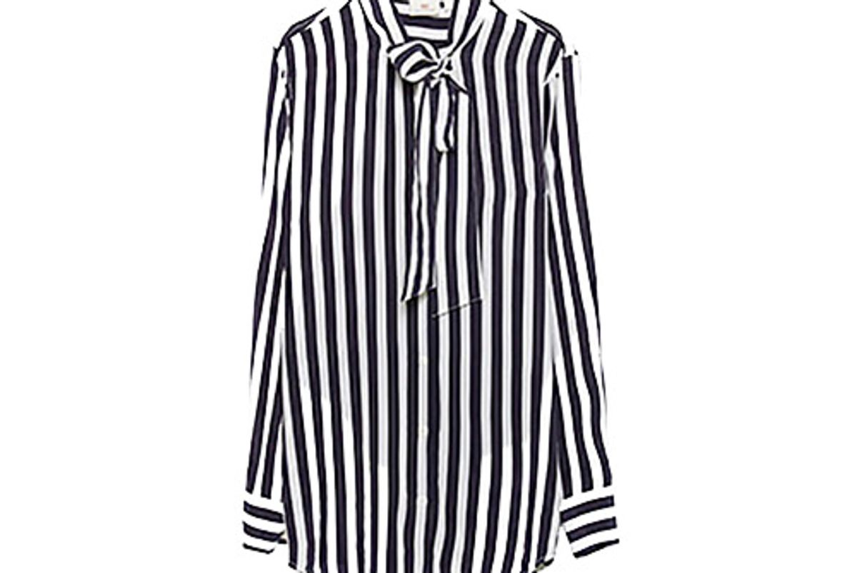 Arley Shirt in Striped After Dark