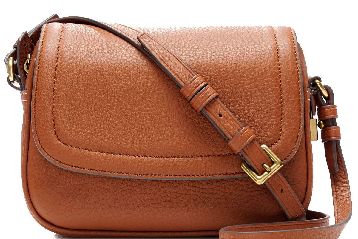 Signet Flap Bag in Italian Leather