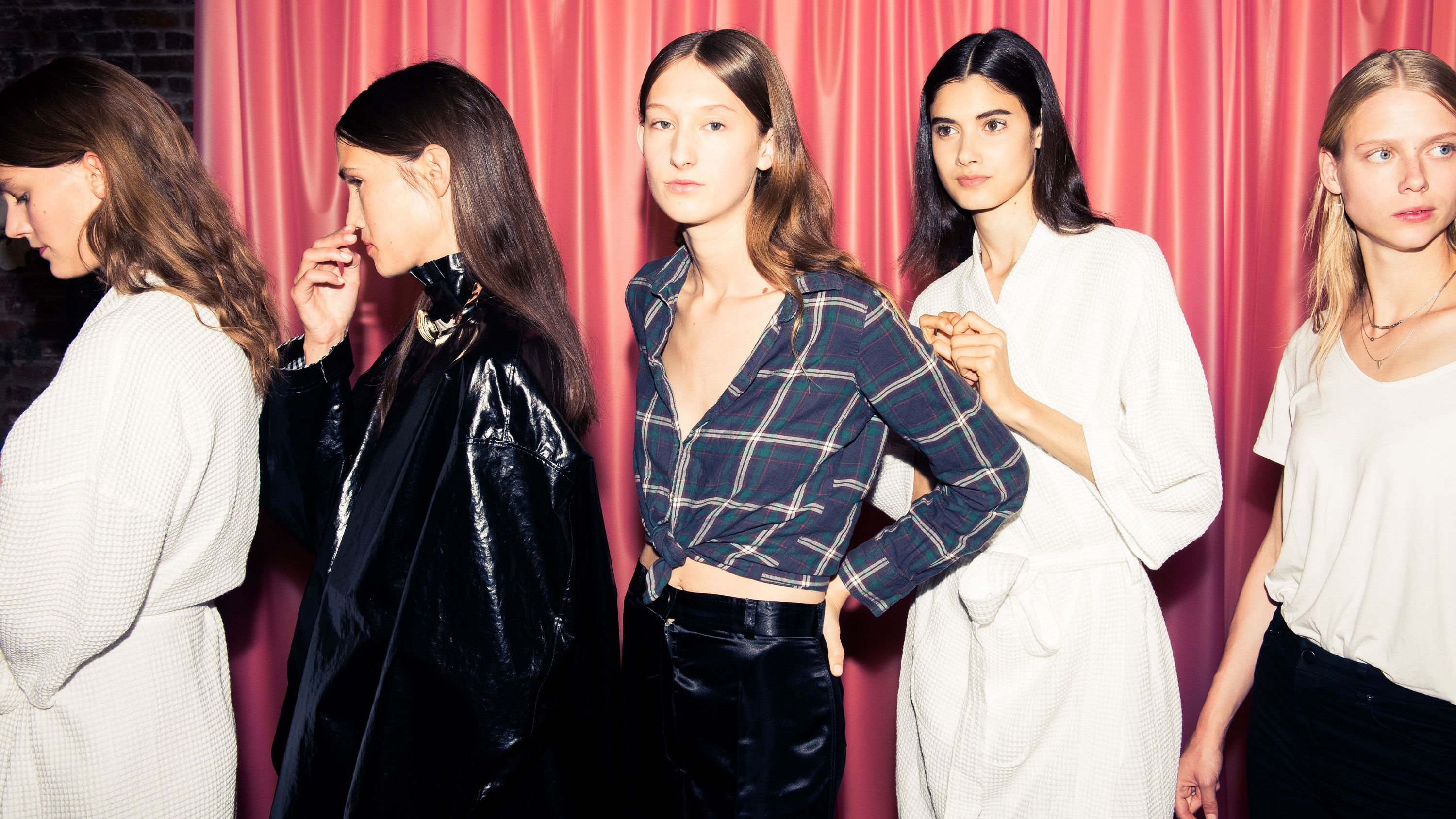 Backstage at the Ellery Spring 2017 Show