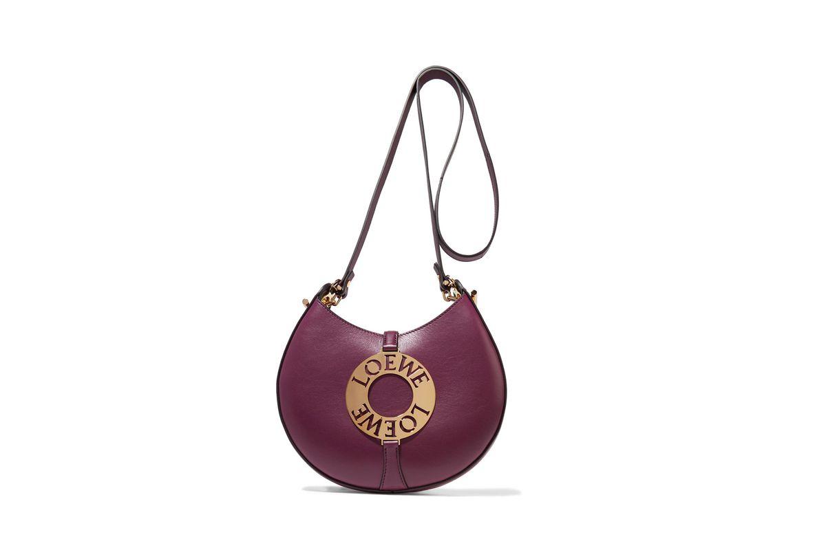 Joyce small embellished leather shoulder bag