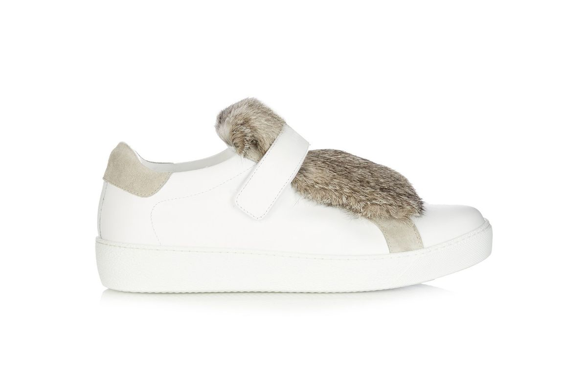 Lucie leather trainers