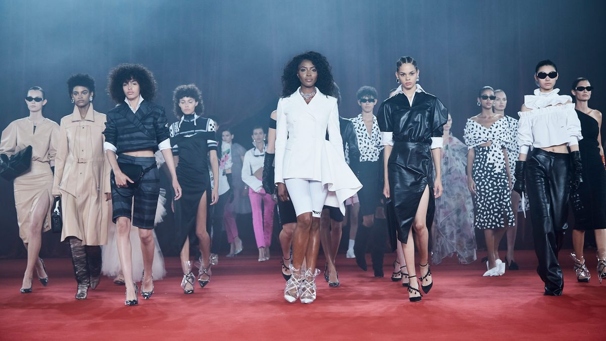 Backstage Details Of Off-White's Princess Diana-Inspired Show