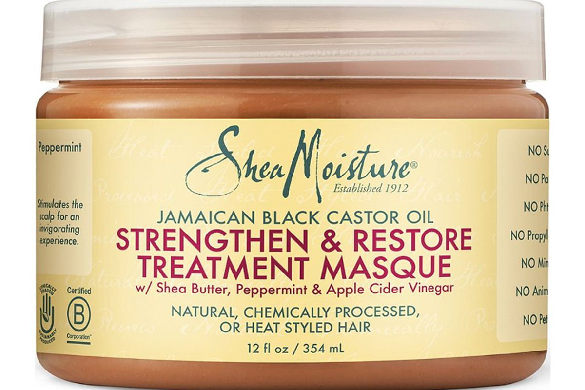 sheamoisture jamaican black castor oil strengthen and restore masque