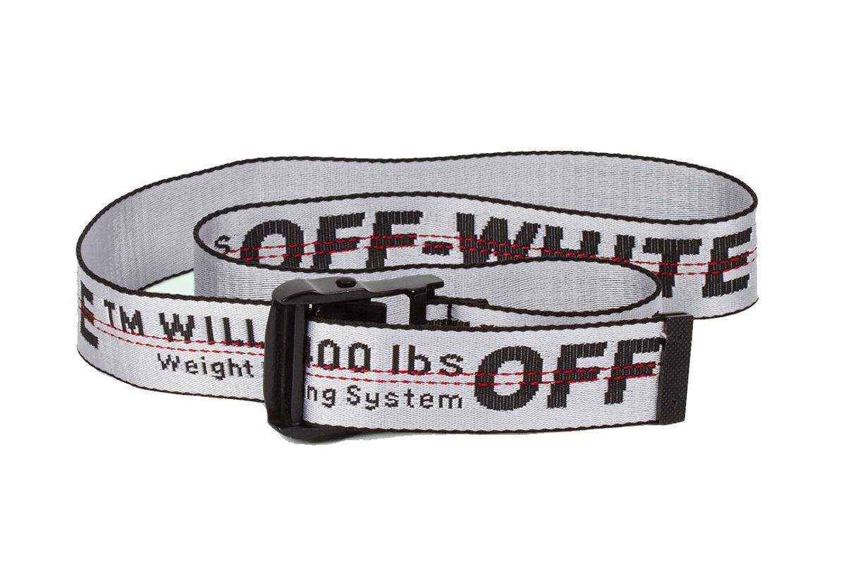 Industrial Belt White