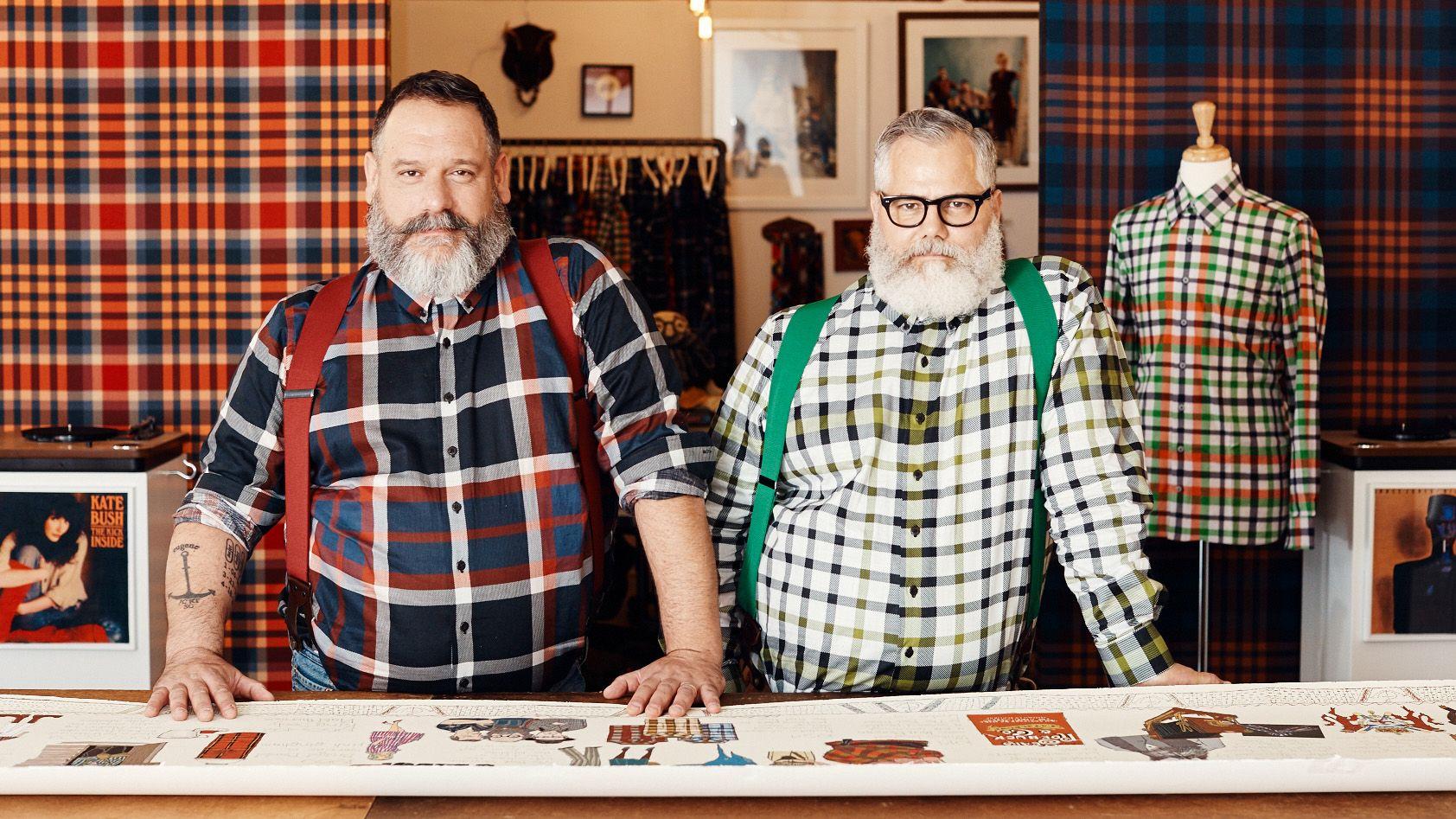 Meet the Twinning Lumberjacks of Fashion