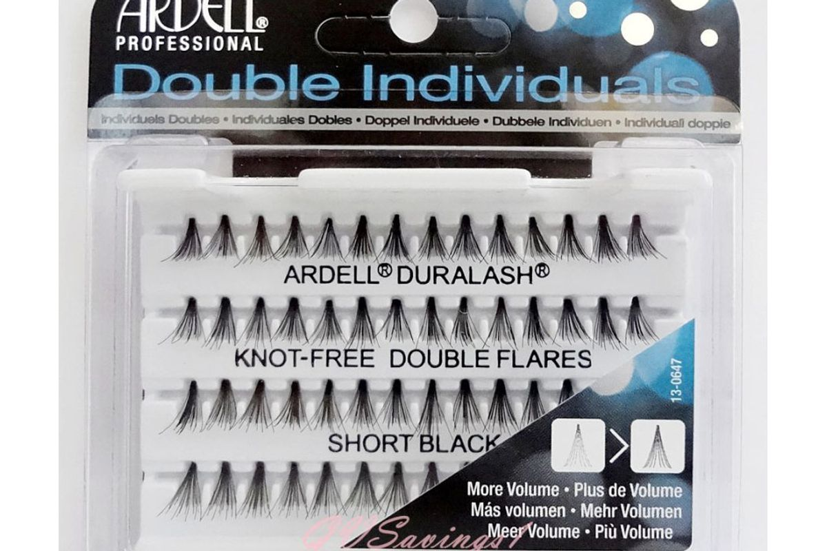 Knot-Free Individual Lash Double