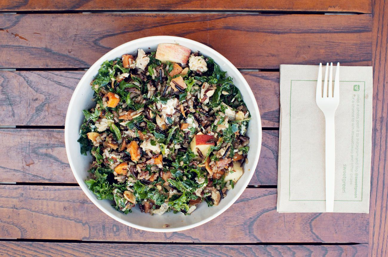 Off The Menu: The Most Delicious Kale Bowl Ever