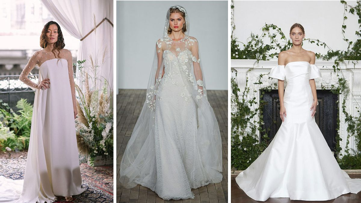 These Are the Biggest Trends from Bridal Fashion Week