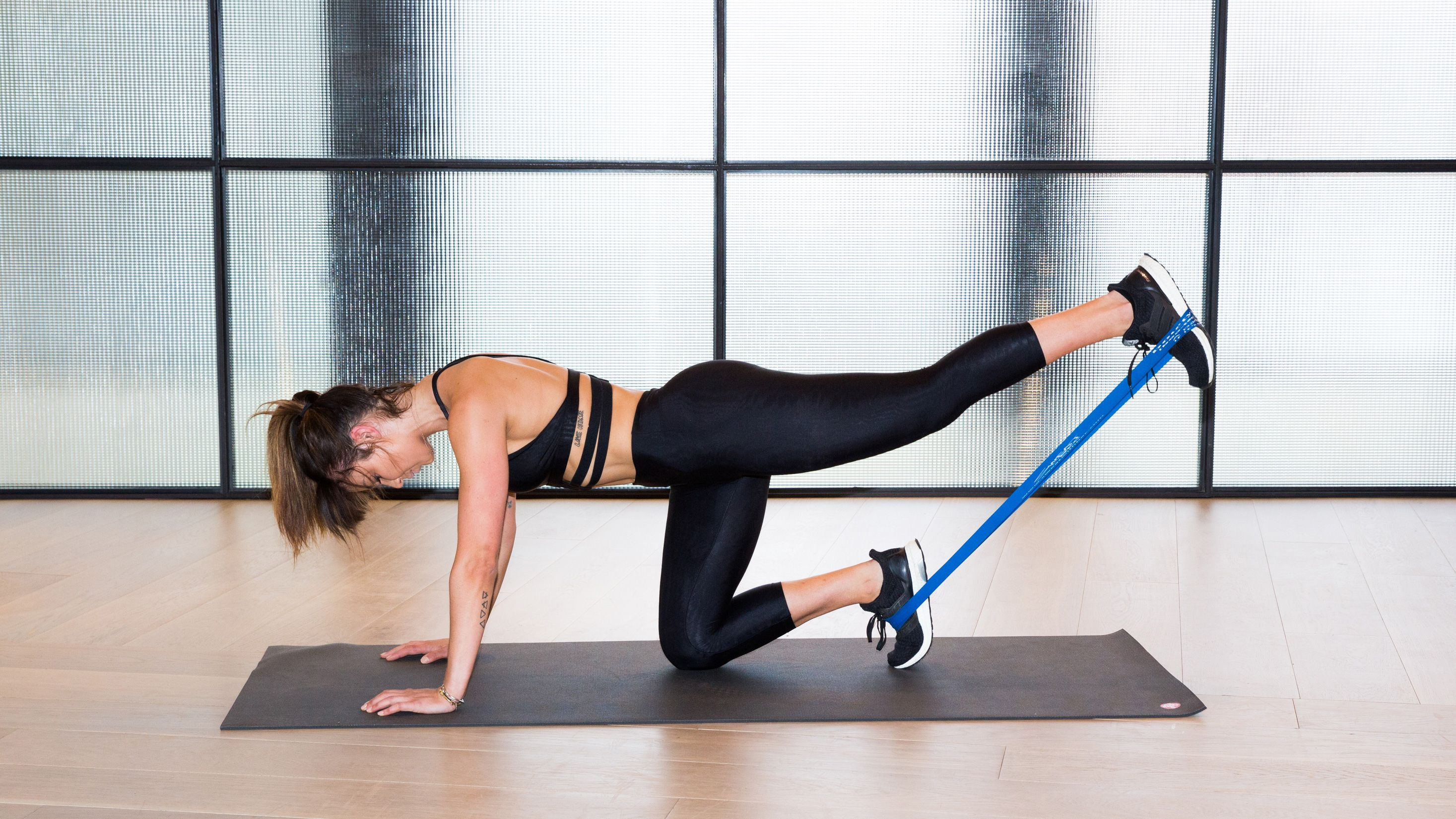 Thanks to This Resistance Band, You Can Work Out Anywhere