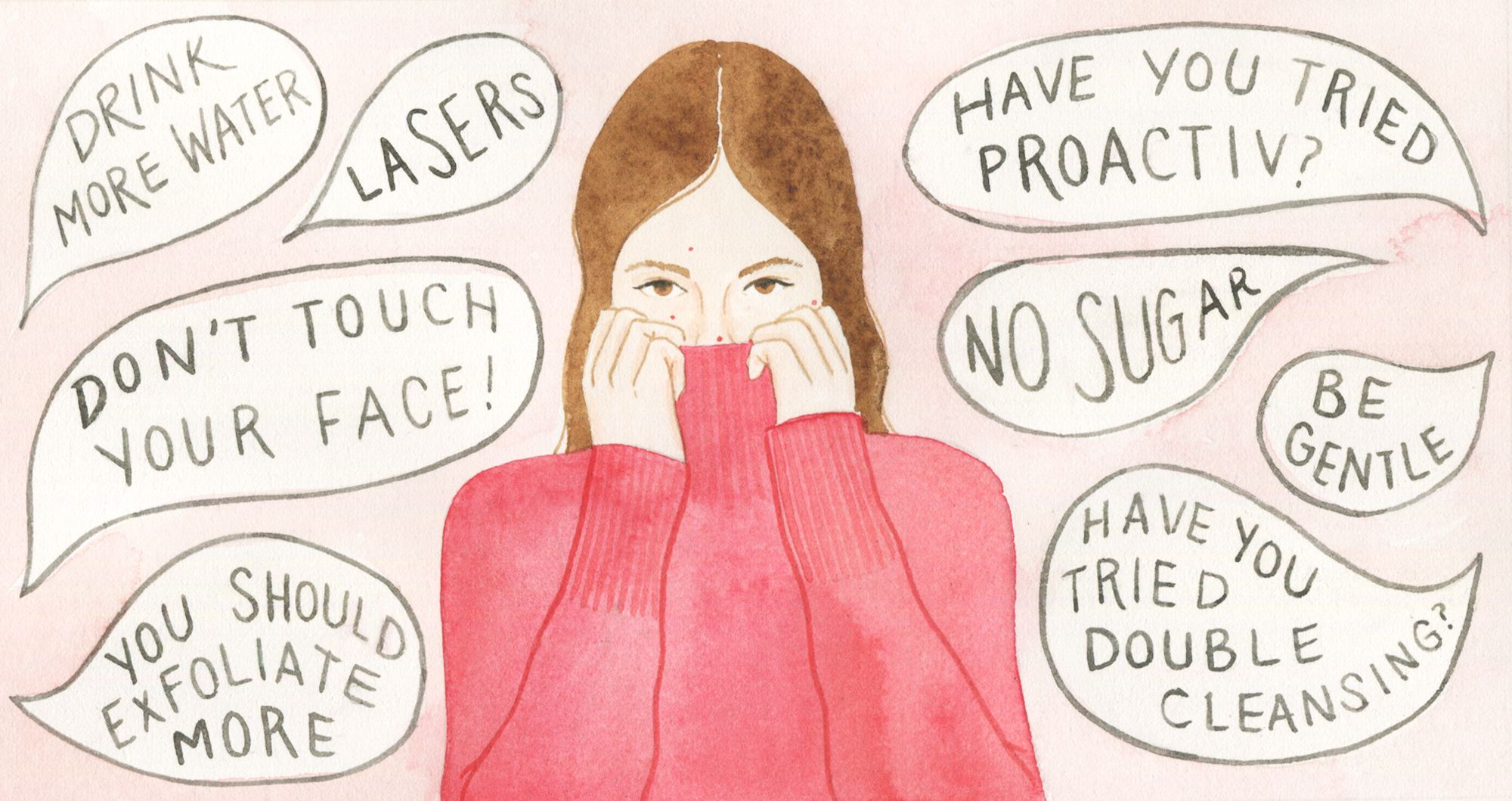 How I Finally Kicked My Adult Acne Problem