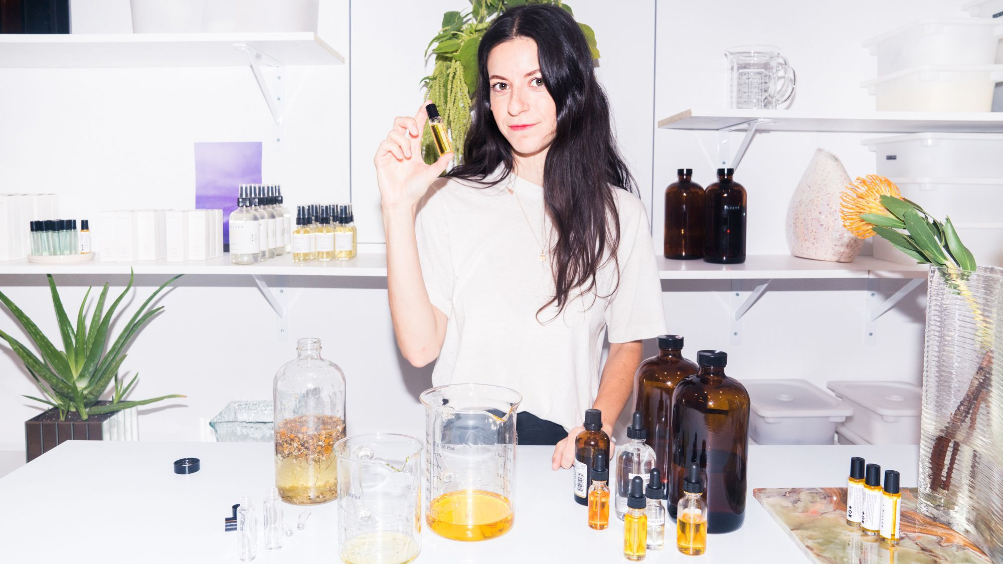 A Natural Beauty Founder On Acne Scars, Eye Oil & Her Favorite DIY Facemask