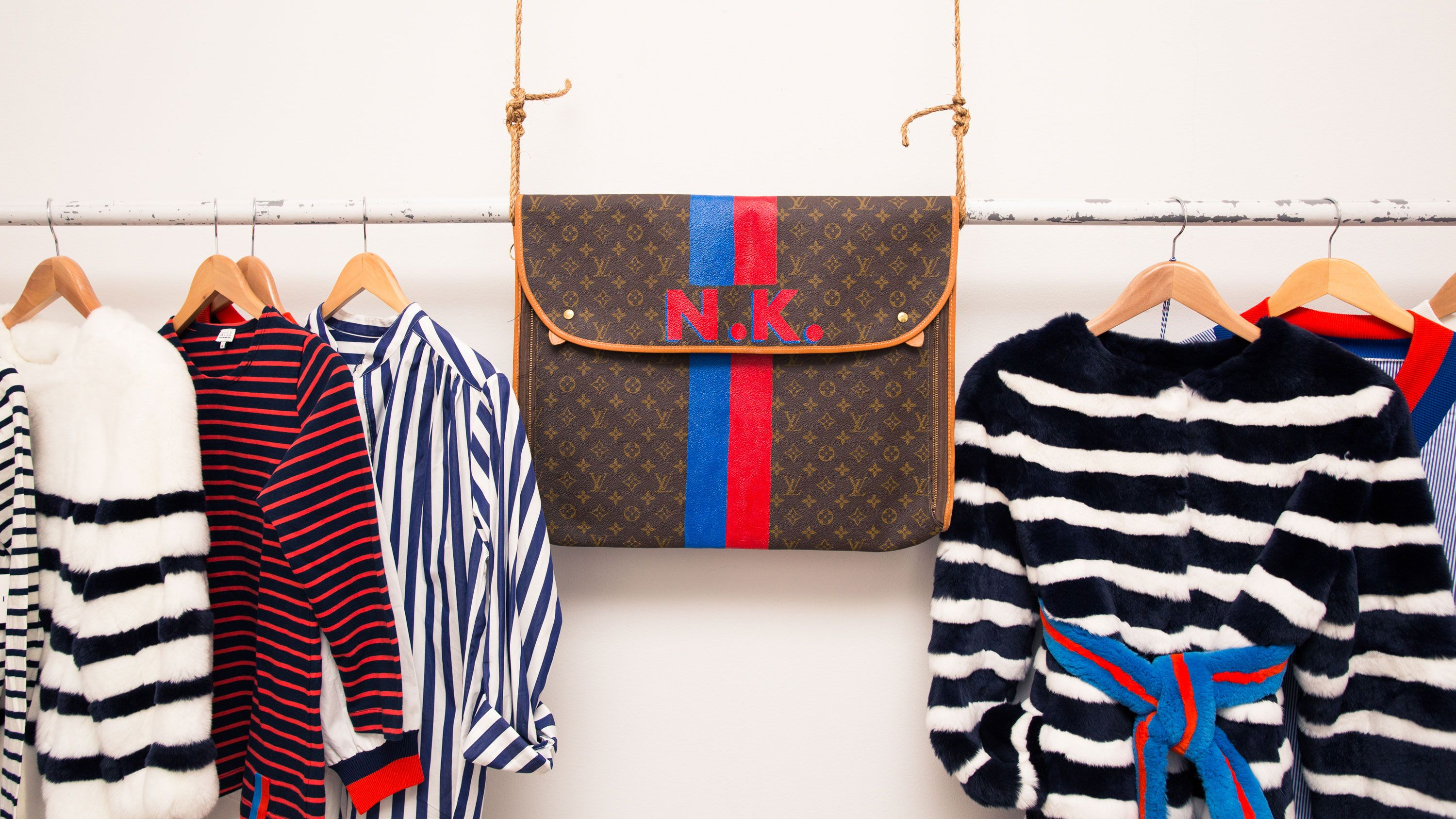 This Stripe-Obsessed Designer Is on a Mission