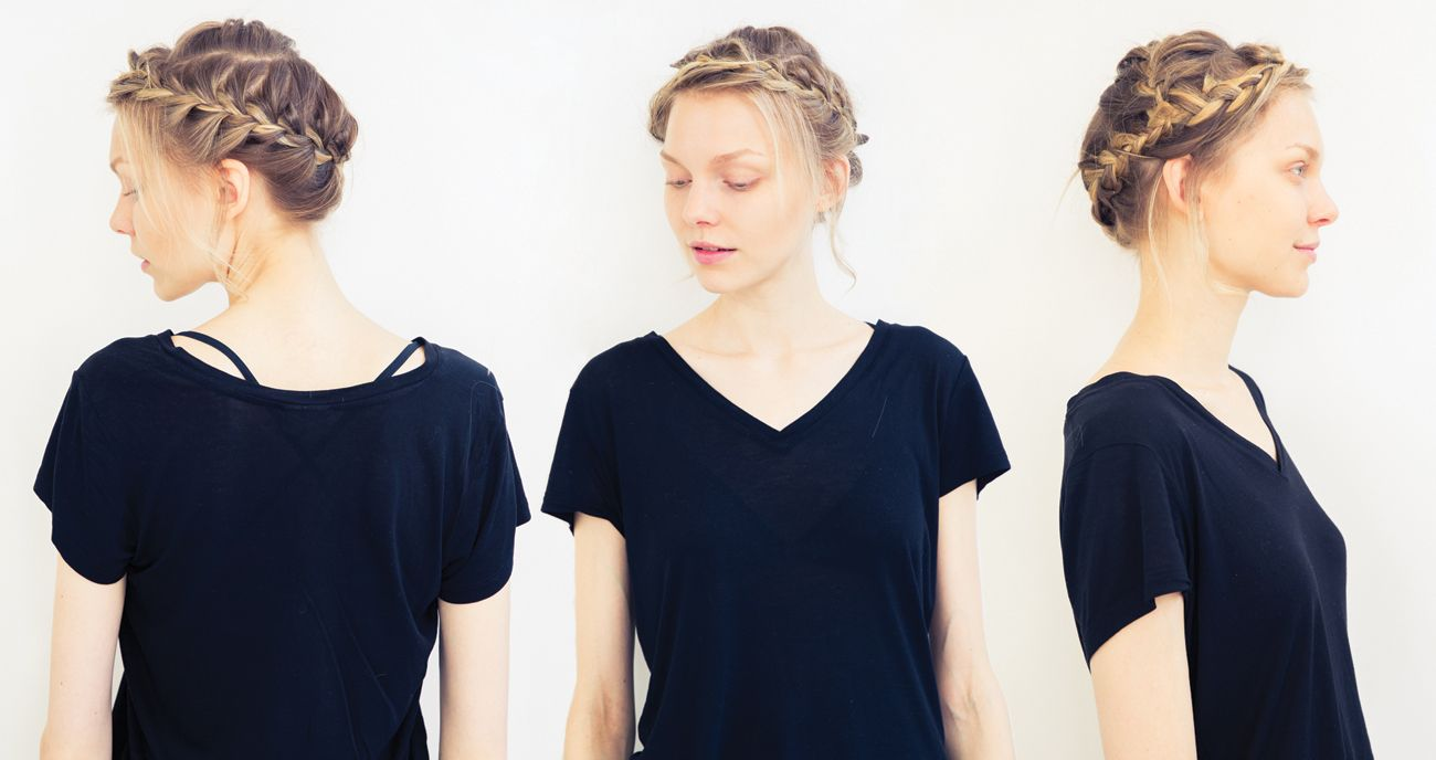 How To: The Prettiest Crown Braid