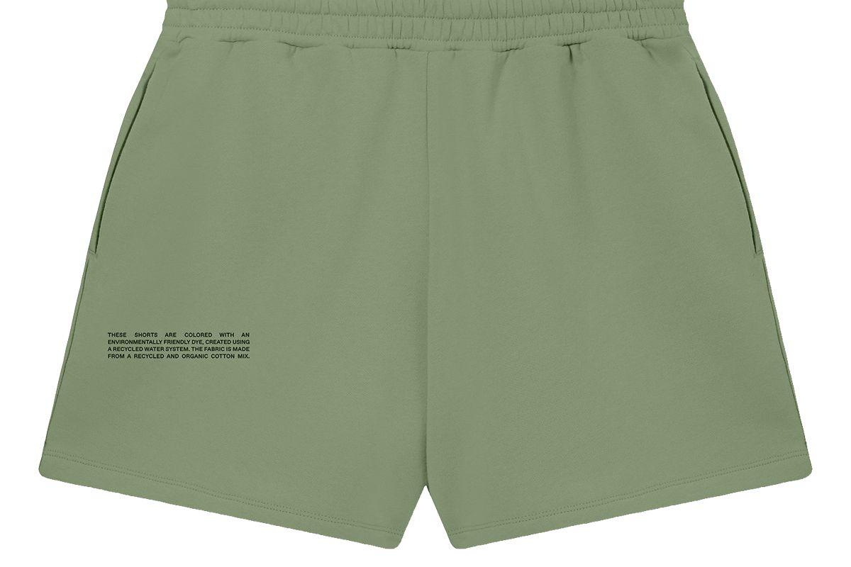 pangaia lightweight recycled cotton shorts