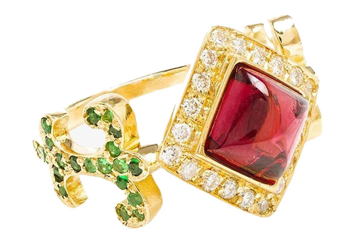 Domi Rosa Diamond Ring