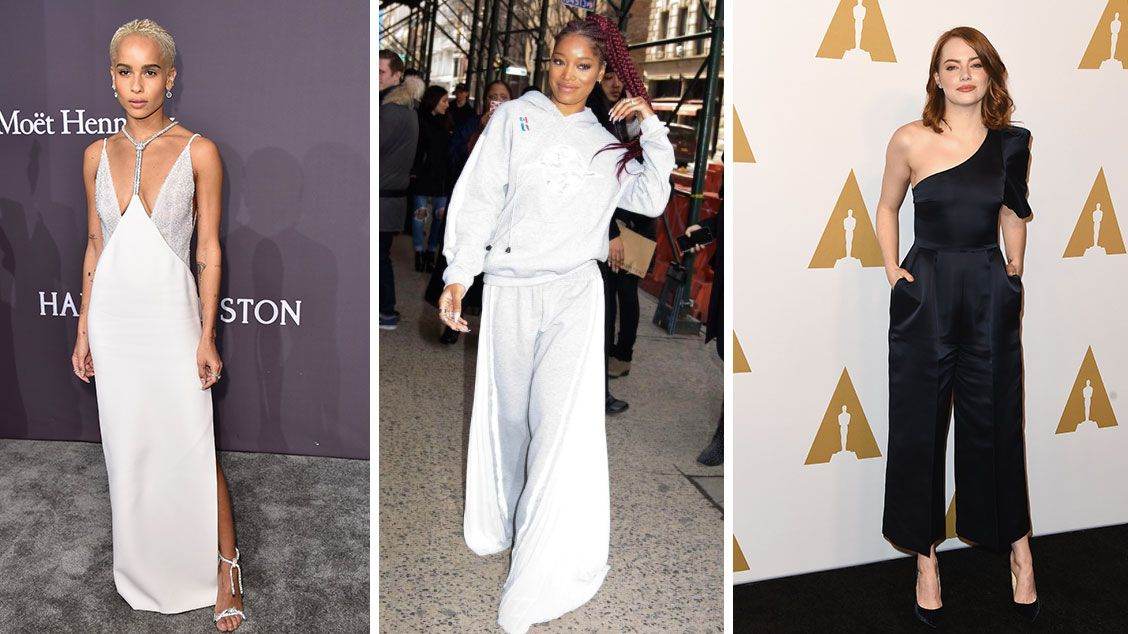 Solange Knowles, Emma Stone, and Zoe Kravitz Are Giving Us All the NYFW Inspiration We Need Right Now