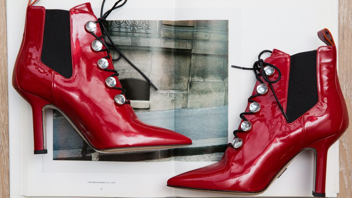 winter heeled boots