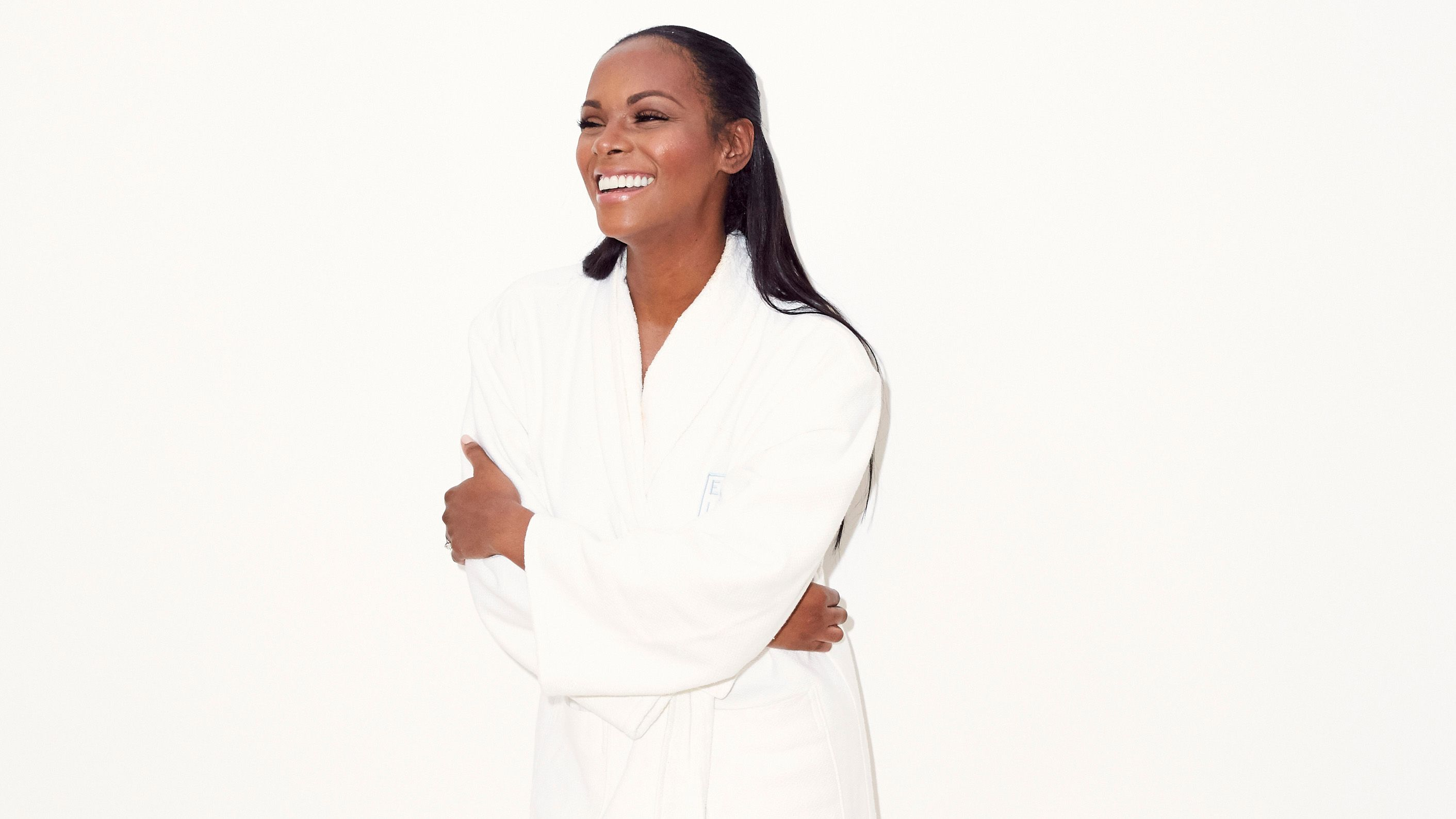 """Tika Sumpter's Message to New Moms About """"Snapping Back"""" Deserves a Round of Applause"""
