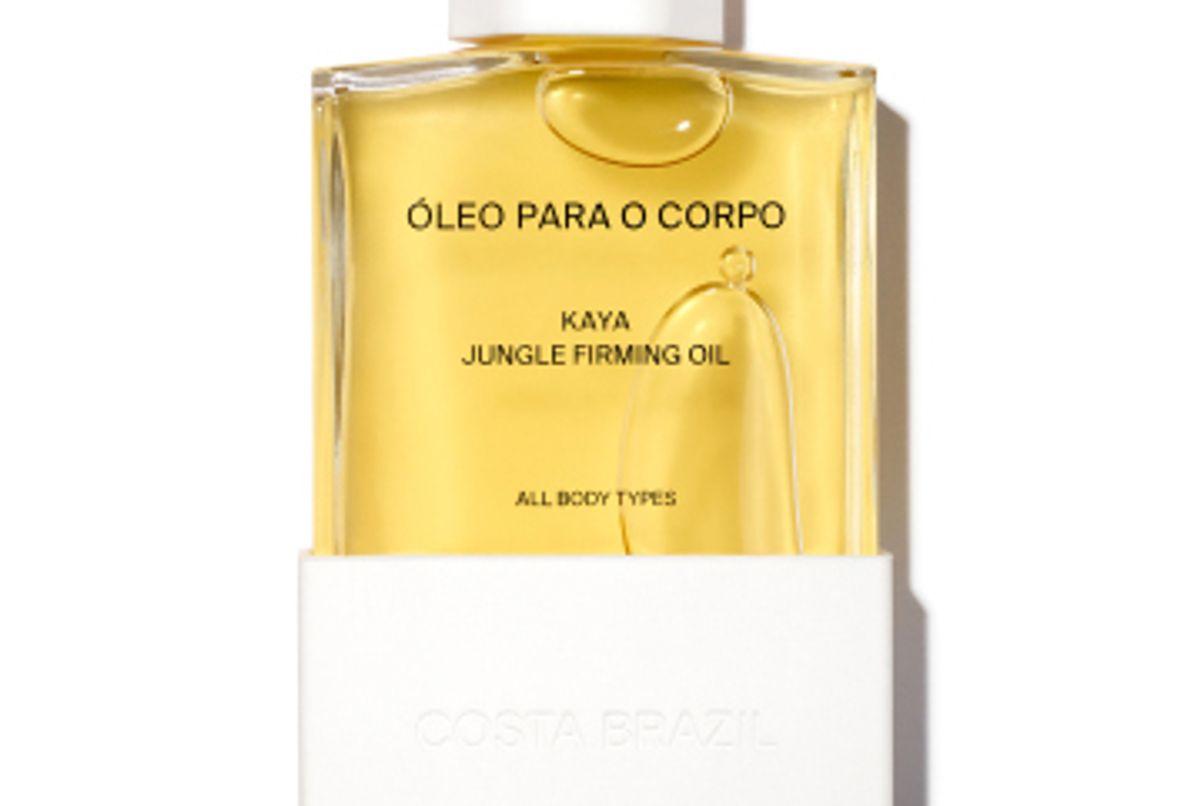 costa brazil oleo para o corpo kaya jungle firming body oil