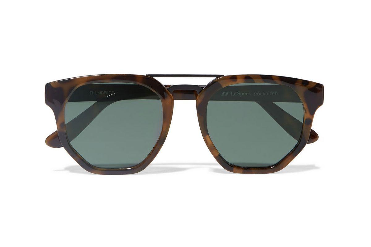 Thunderdome D-frame tortoiseshell acetate sunglasses