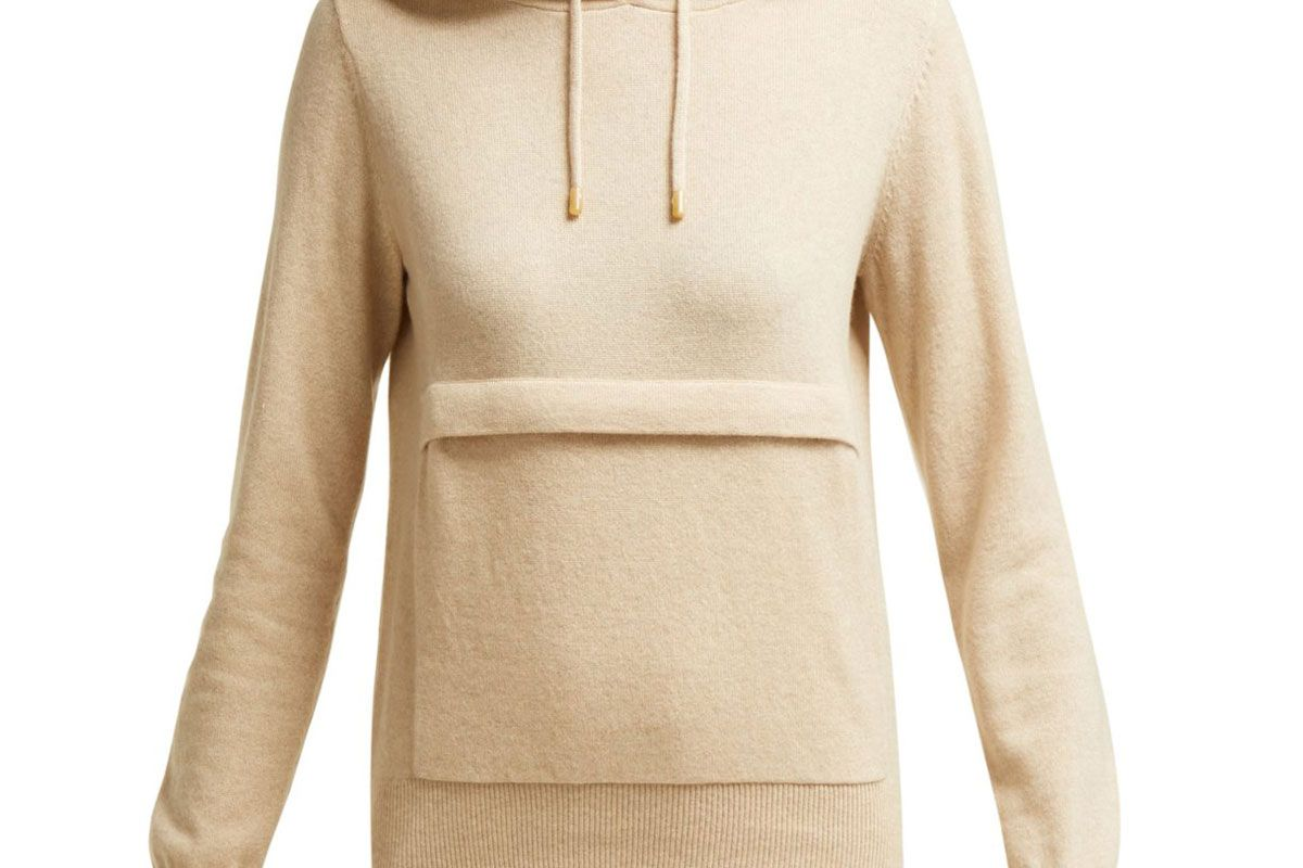 joseph mongolian cashmere hooded sweater