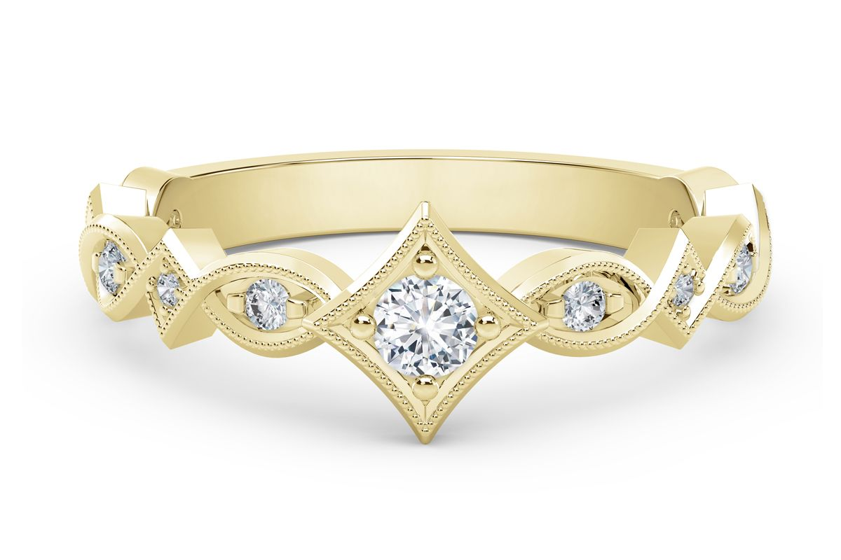 forevermark tribute collection unique diamond ring