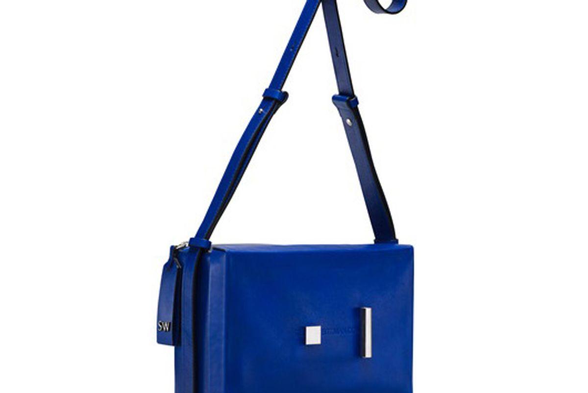 stuart weitzman the shoebox shoulder bag