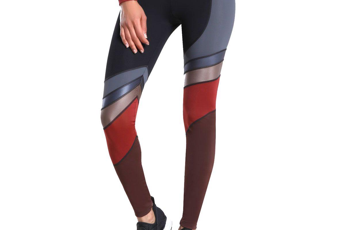 cushnie multi color miles high waist legging