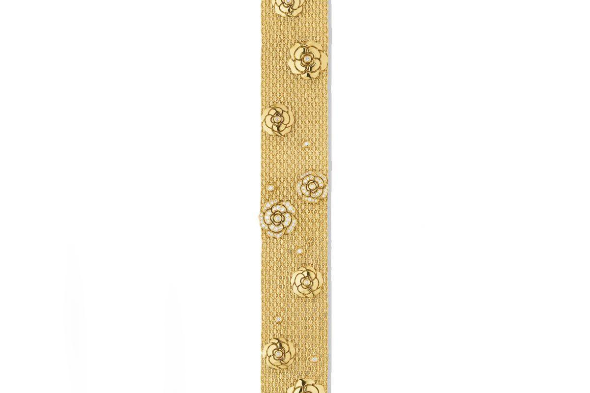 chanel camelia bracelet