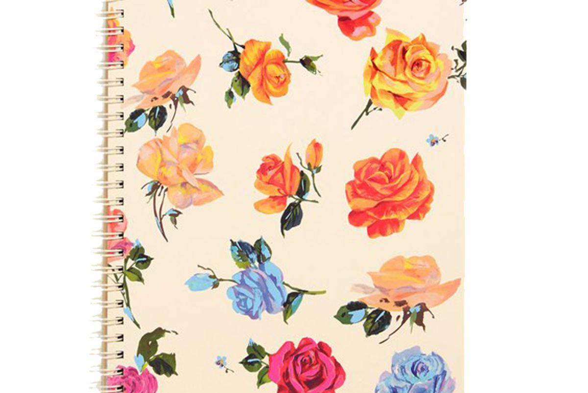 bando rough draft mini notebook coming up roses