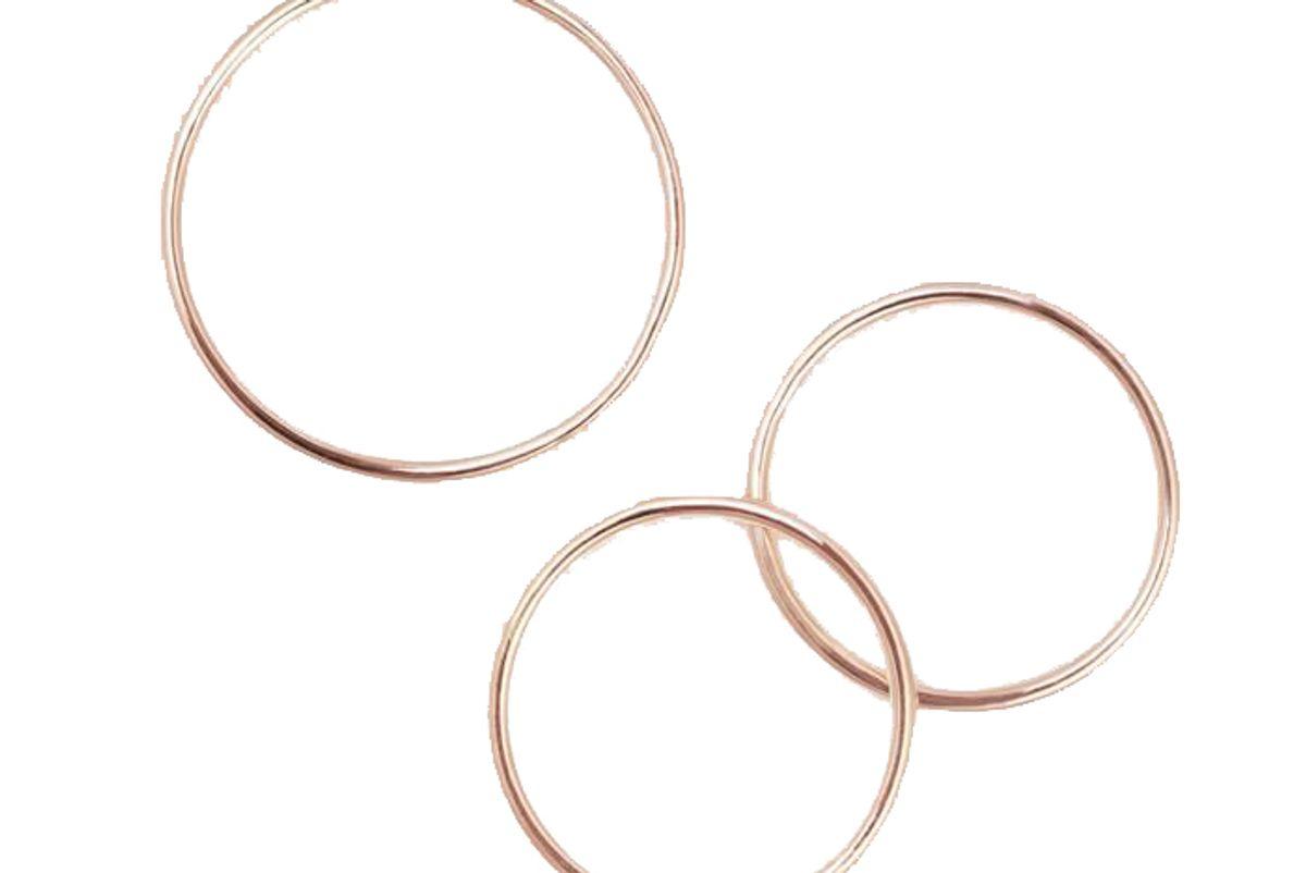 Skinny Stacking Rings - Set of 3