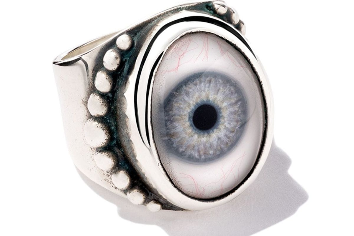 the great frog beaded eye ring