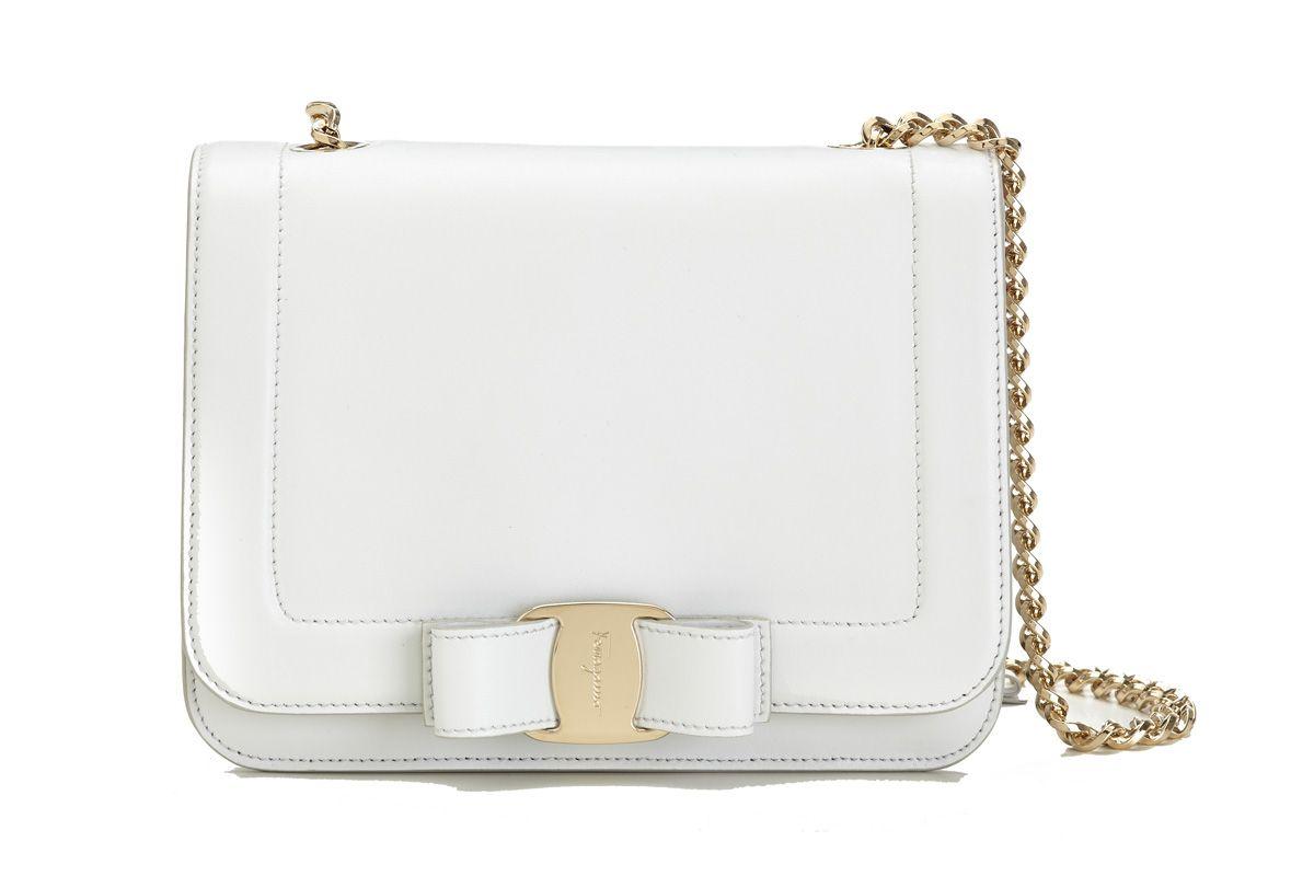 Small Vara Rainbow Bag in White
