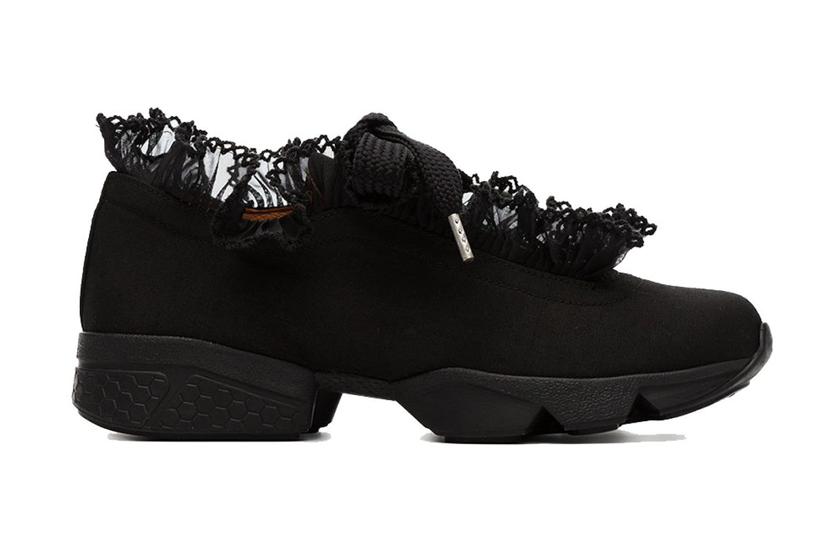ganni black hariet sneakers